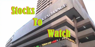 STOCKS TO WATCH