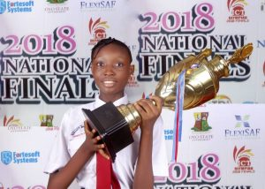 2018 NATIONAL ICT OLYMPIAD WINNER
