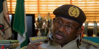 Comptroller-General of Nigeria Immigration Service (NIS), Muhammad Babandede