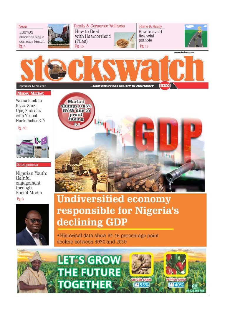 STOCKSWATCH e_PAPER September 14-20 September 14-20