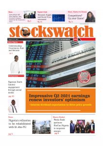 Stockswatch e-paper, August 9-15, 2021